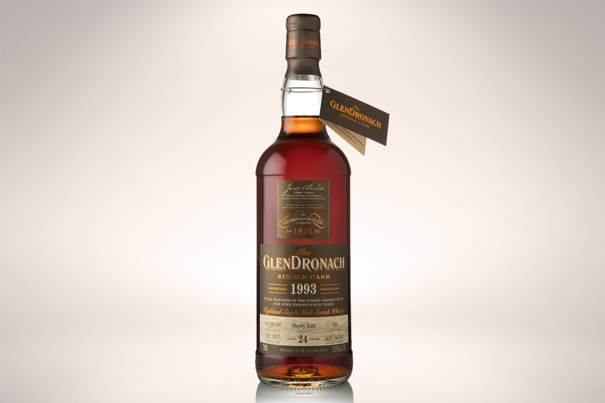 GlenDronach 1993 24 Year Sherry Butt Single Cask #415