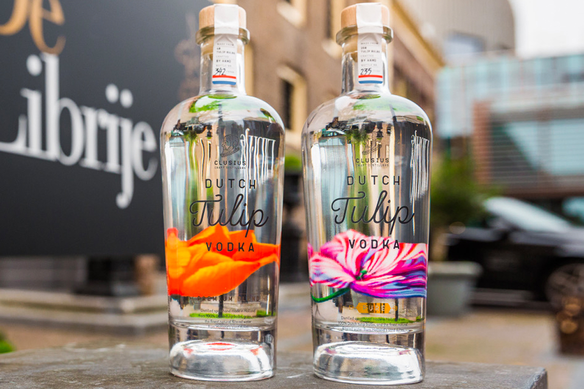Tulip Vodka: Dutch Tulip PURE & Premium Blend