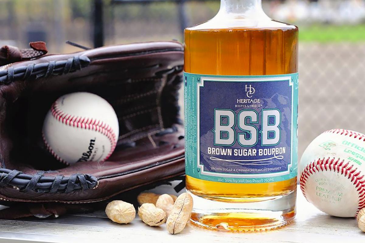 Baseball Bottles: BSB Baseball Label