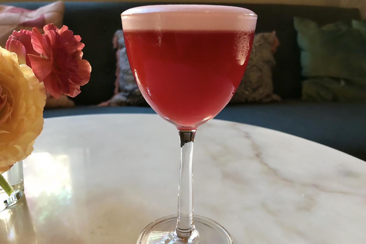 Egg Cocktails: Flower Power