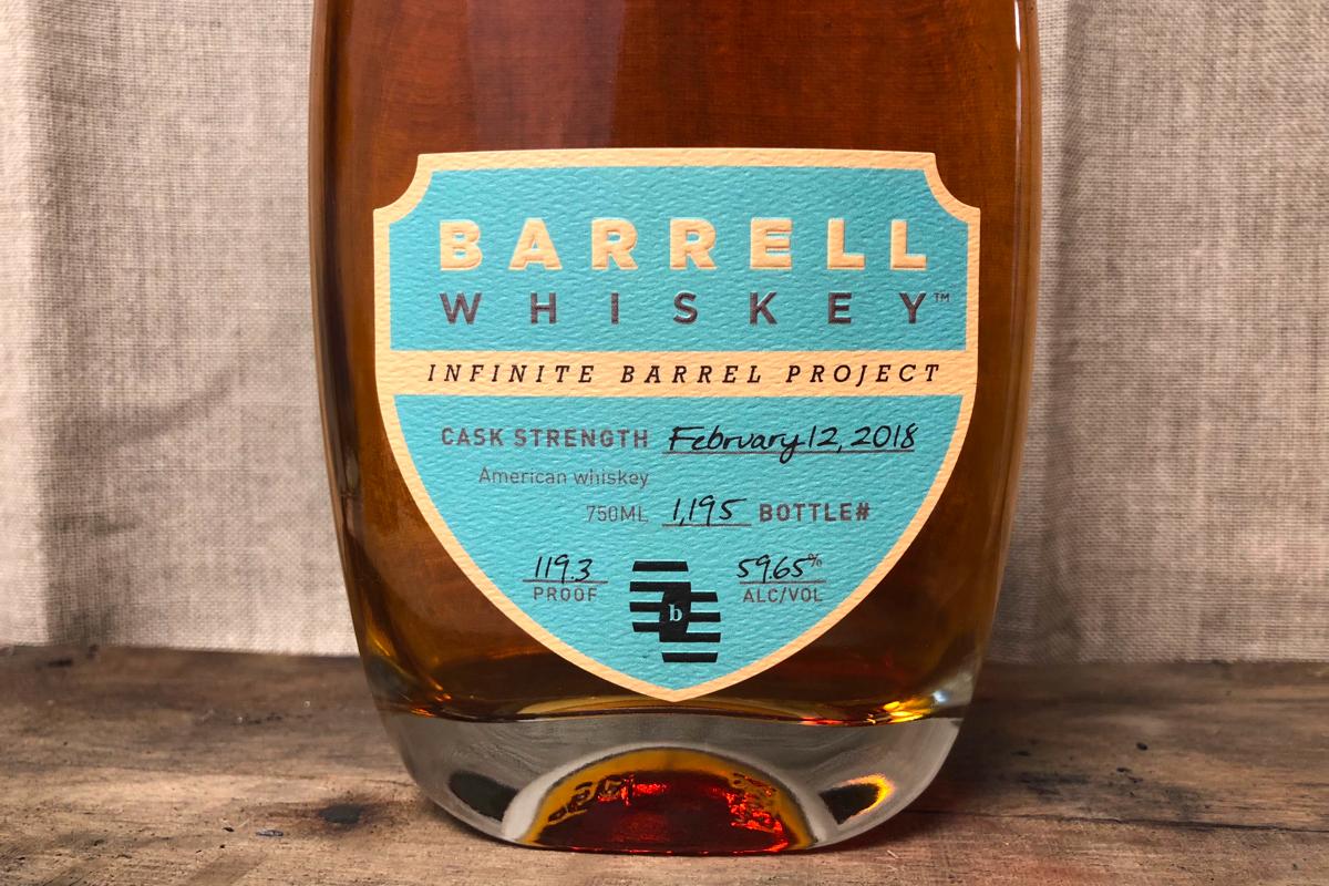 Barrell Infinite Barrel Project (February 12, 2018)