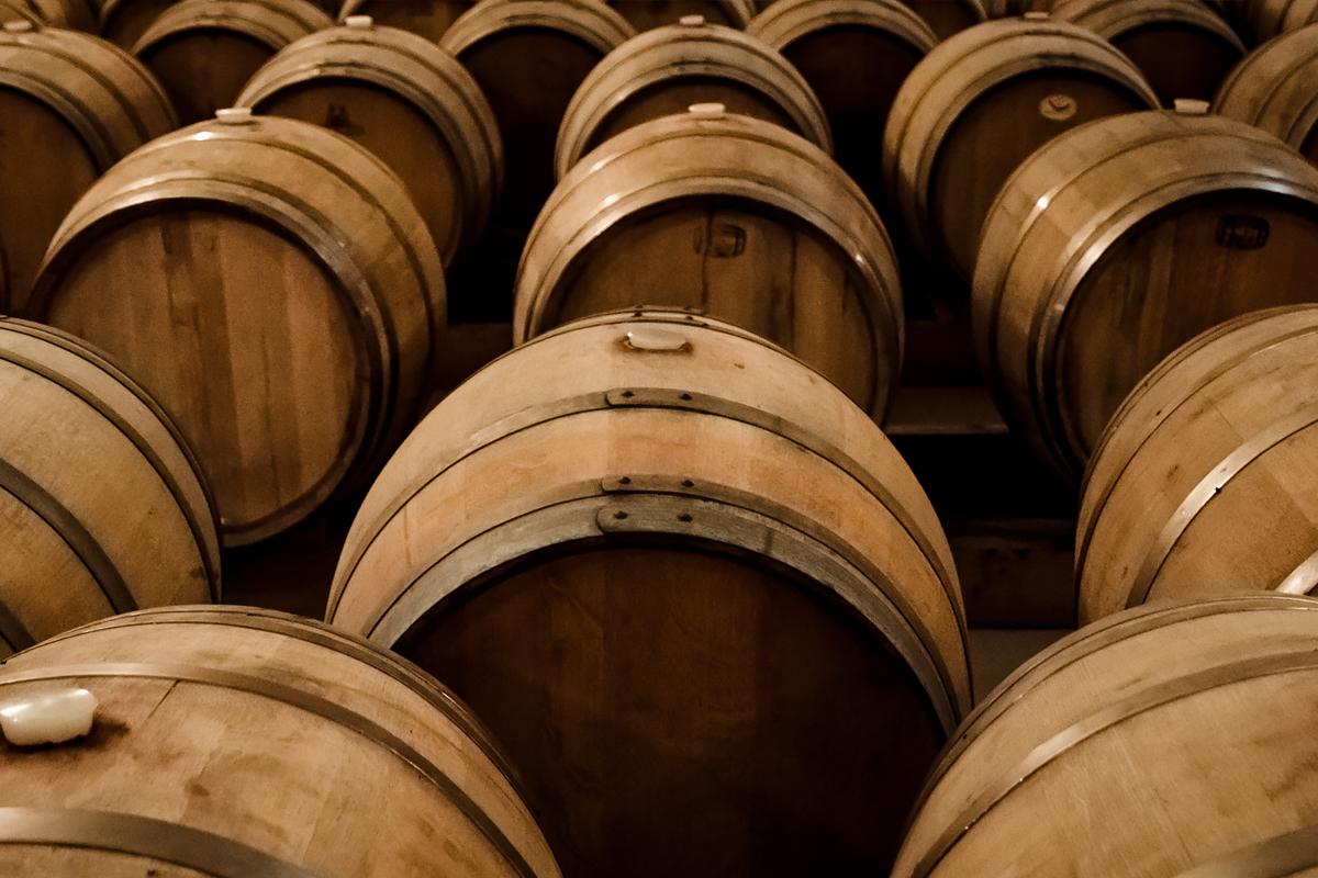 Cognac Makers Breaking Tradition: wine barrels