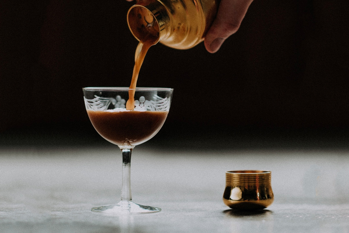 Milk Vodka: Jason's Espresso Martini