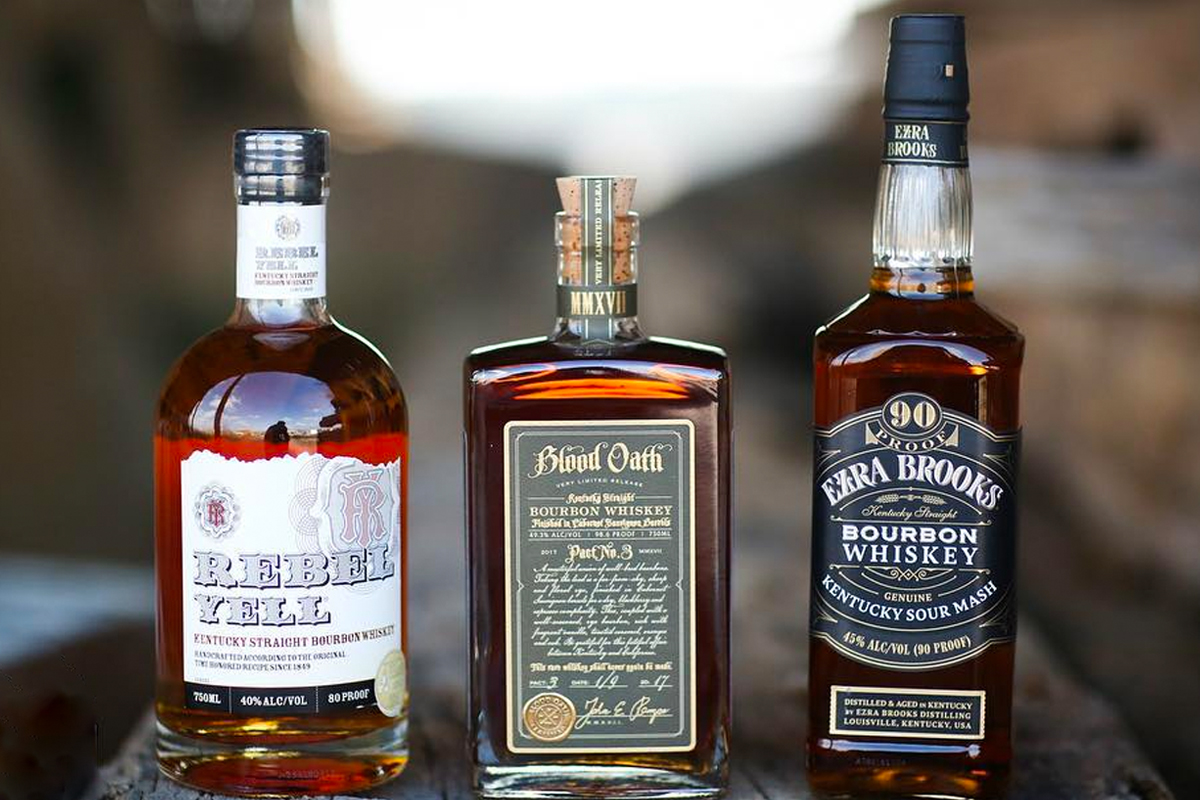 Lux Row Distillers: A few of Luxco's whiskey brands