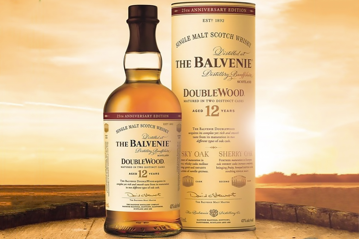 The Balvenie Doublewood 12 Year 25th Anniversary Edition