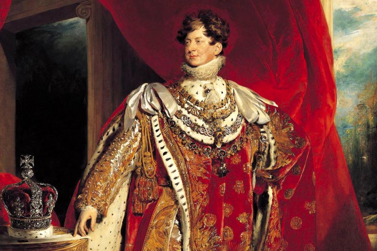 Royalty Scotch Whisky: George IV