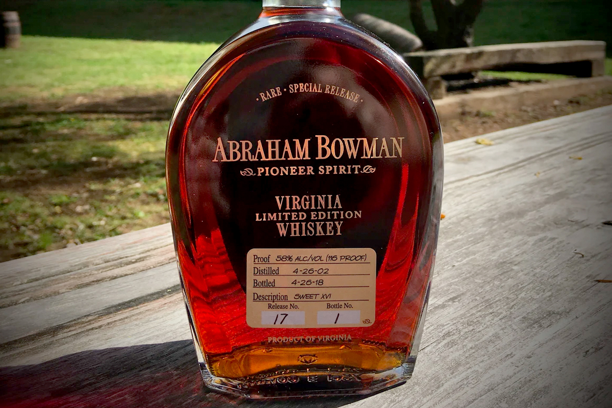 Abraham Bowman Sweet XVI Bourbon