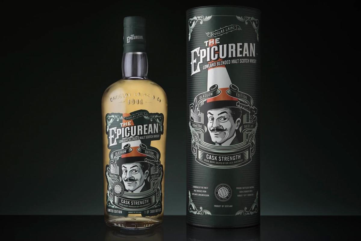 The Epicurean Cask Strength Glasgow Edition