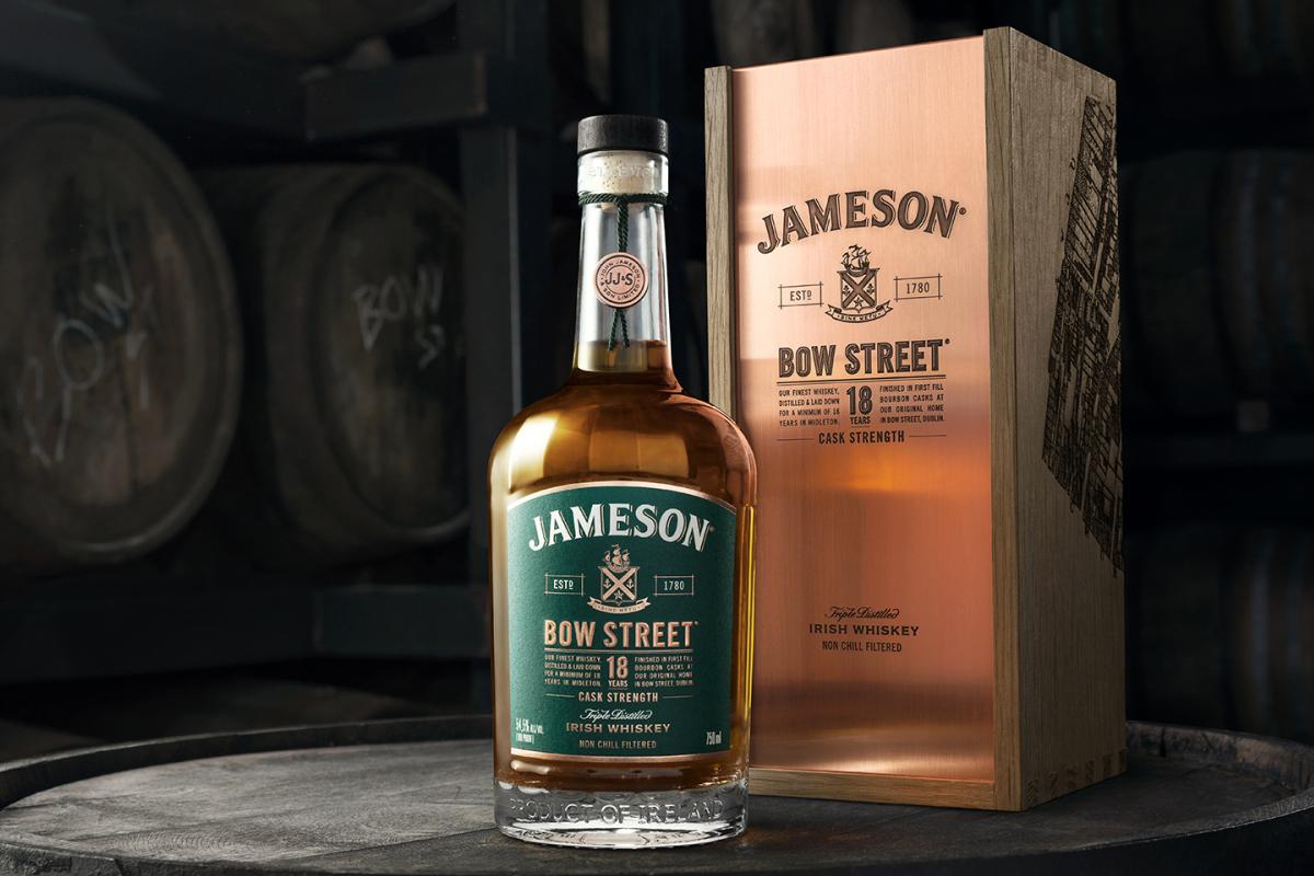 Jameson Bow Street 18 Year Cask Strength