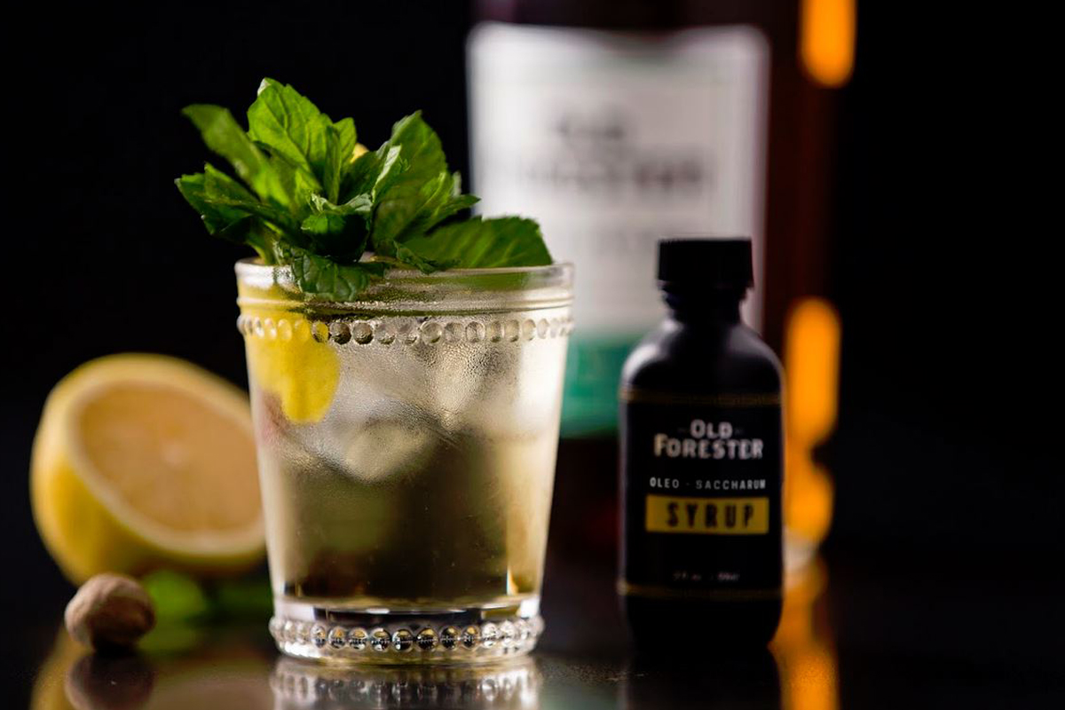 Kentucky Derby Drinks: Old Forester Citrine Punch