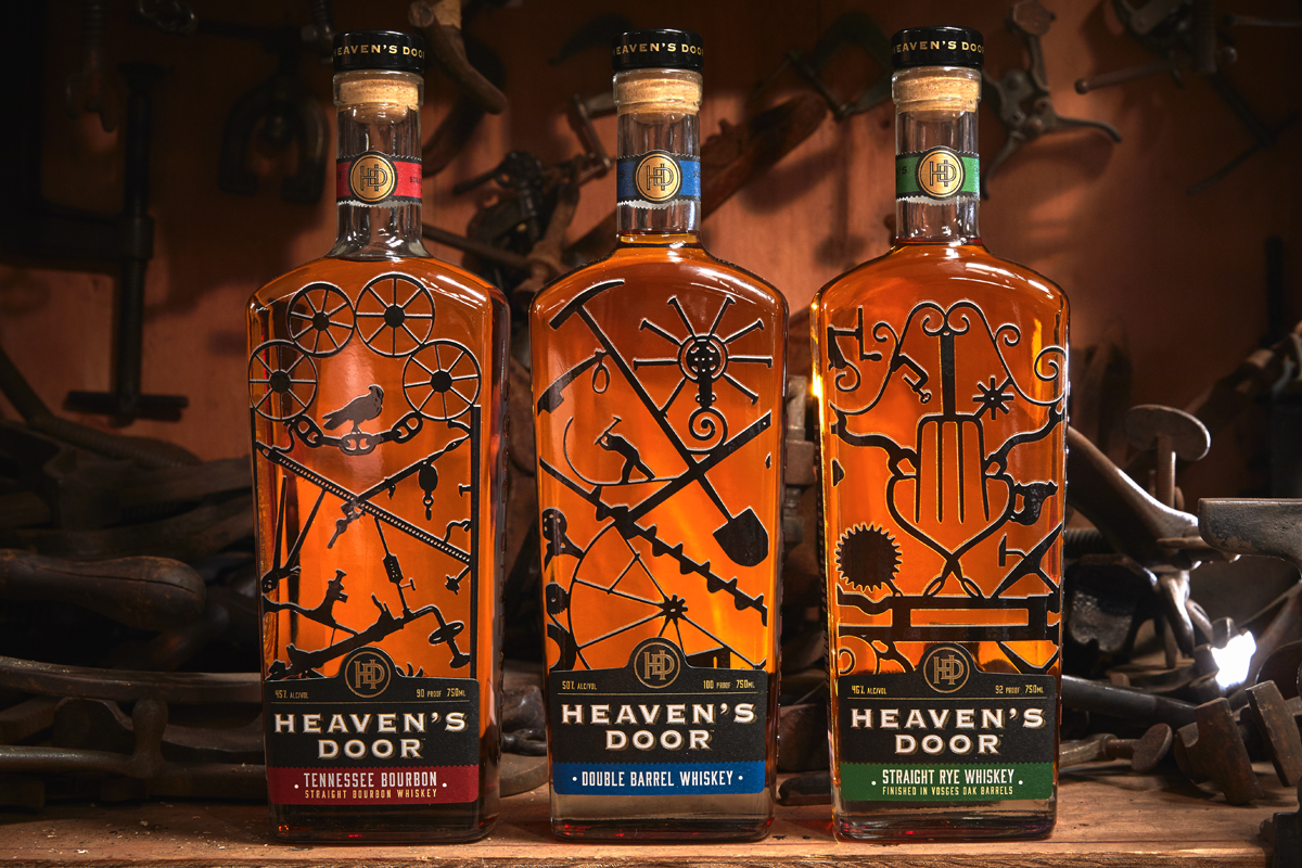 Heaven's Door Whiskeys