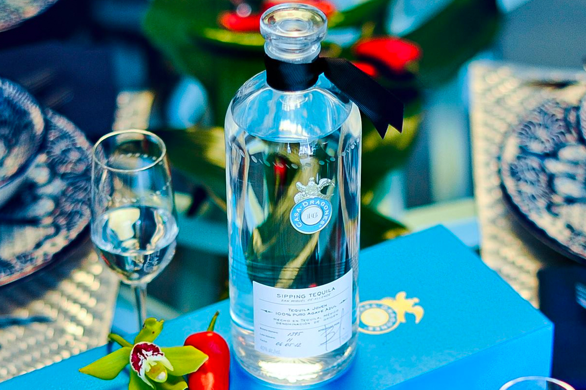 Mother's Day Gift Ideas: Casa Dragones Sipping Tequila
