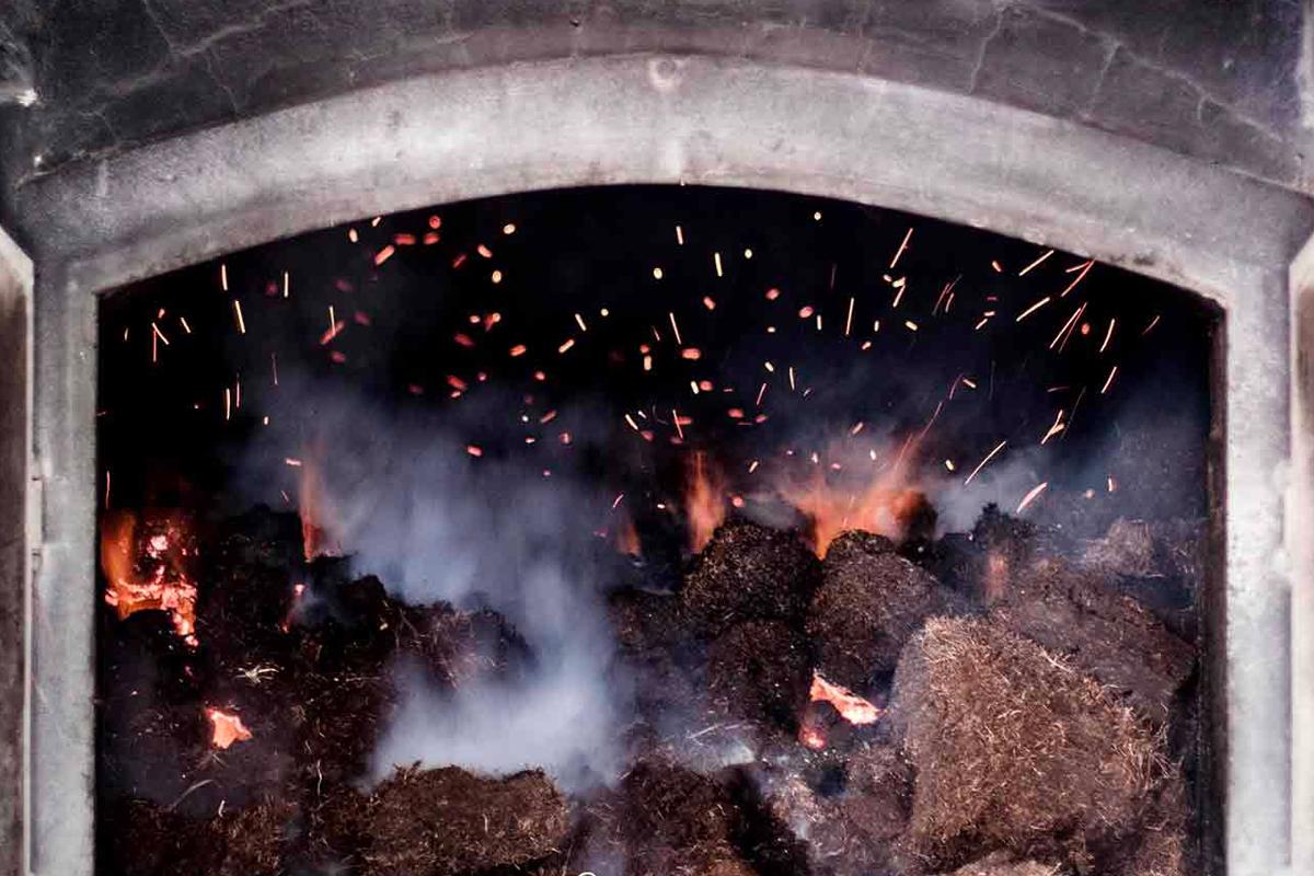 phenol count: The peat kiln at Laphroaig