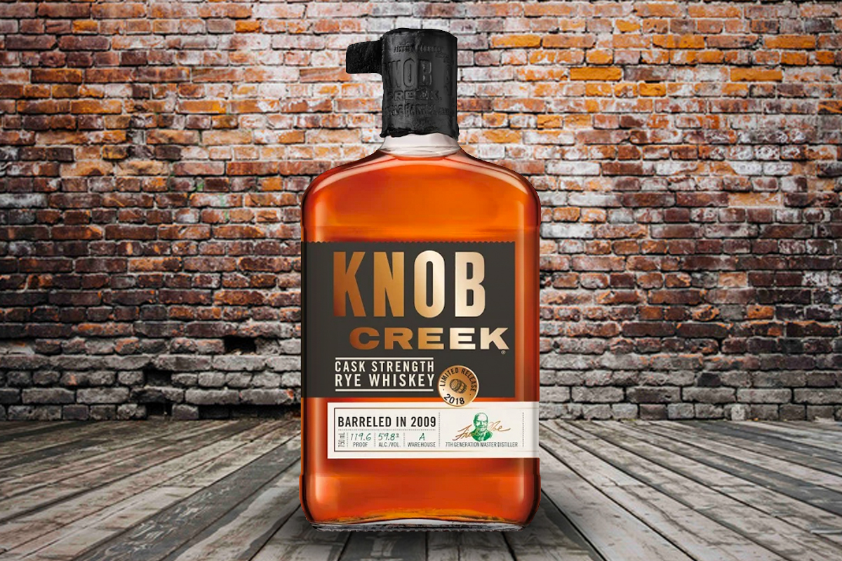 Knob Creek Cask Strength Straight Rye