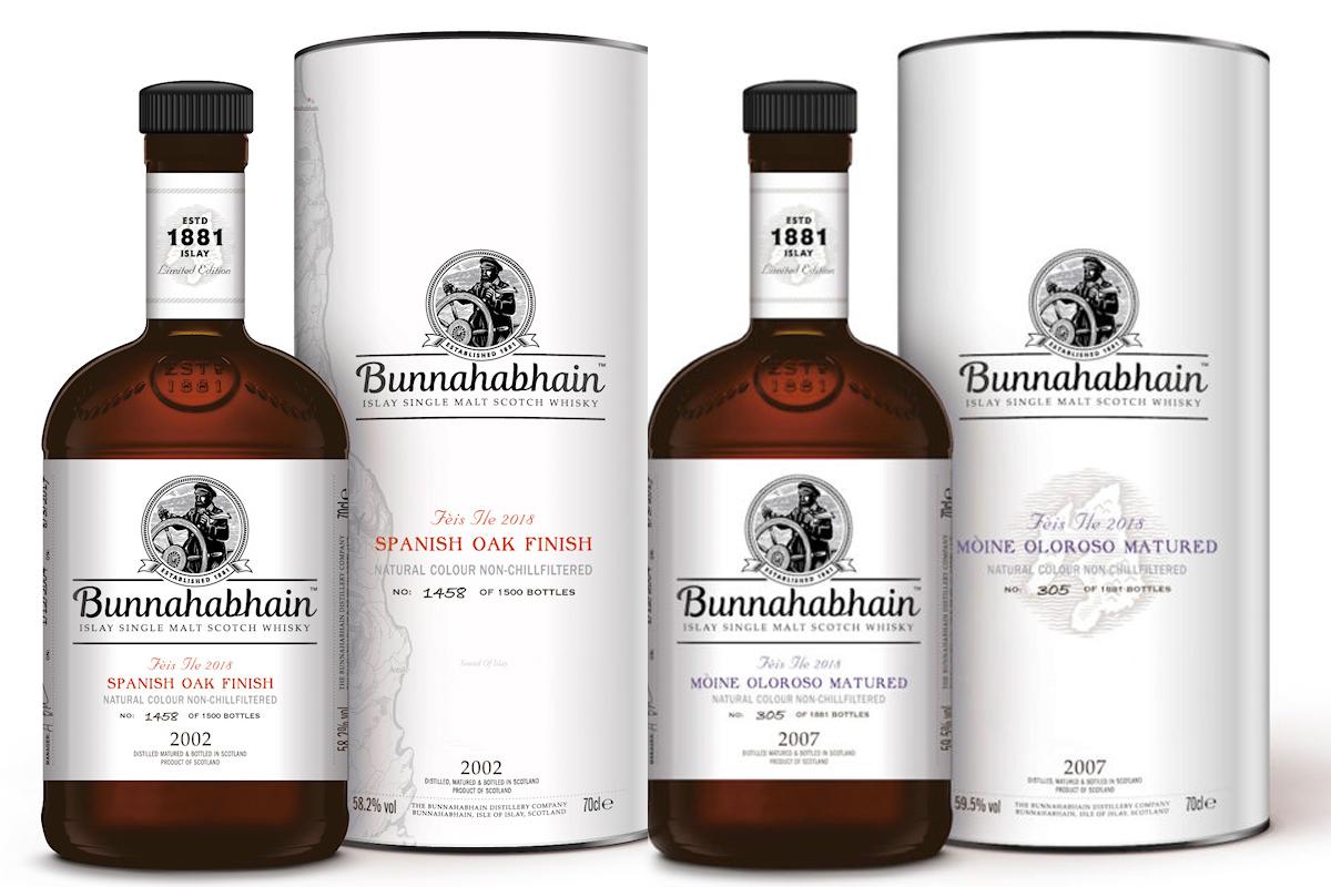 2018 Feis Ile Bottles: Bunnahabhain Fèis Ìle Bottles