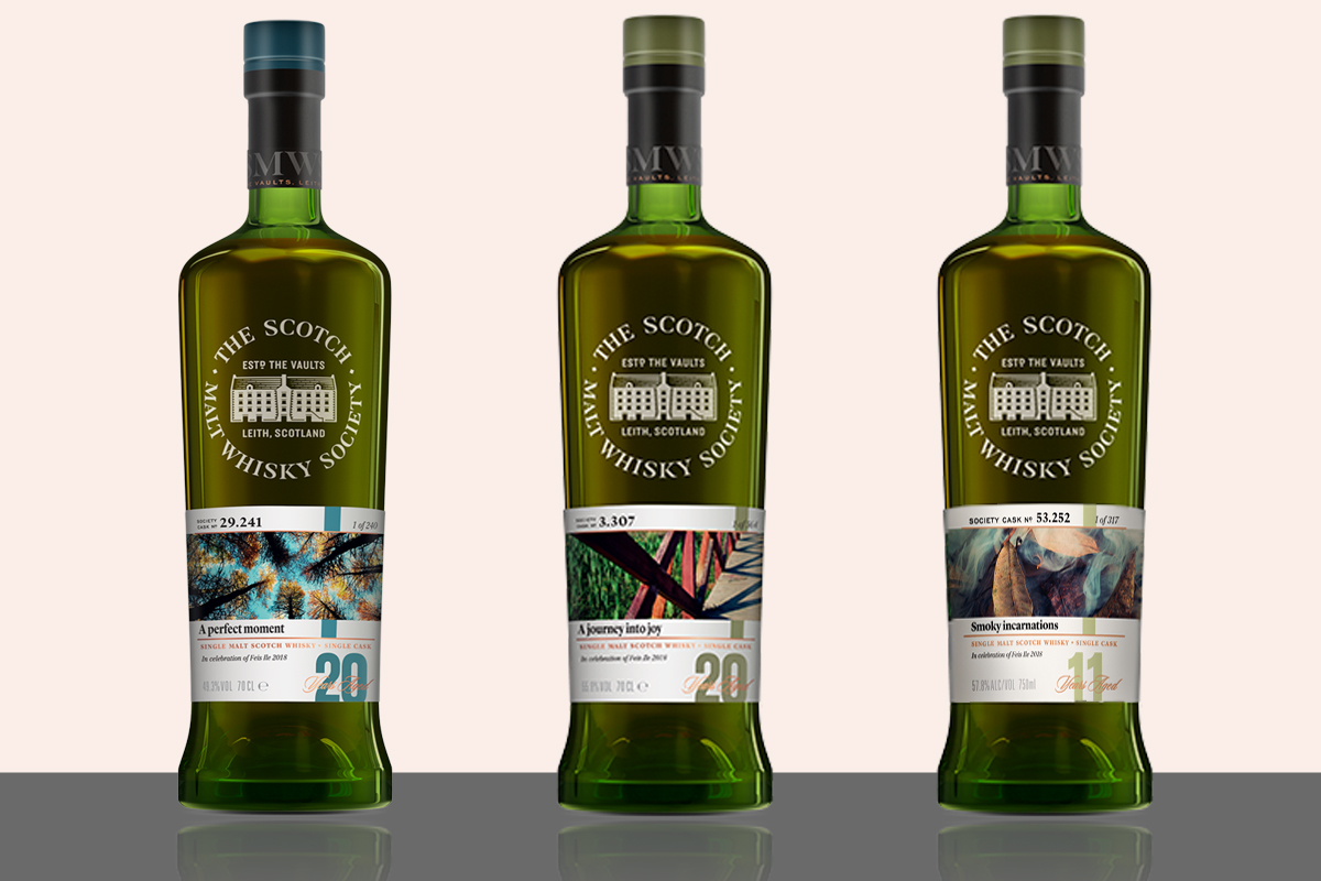 2018 Feis Ile Bottles: Scotch Malt Whisky Society Fèis Ìle Bottles