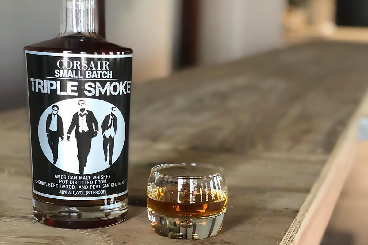 American Malt Whiskey: Corsair Triple Smoke