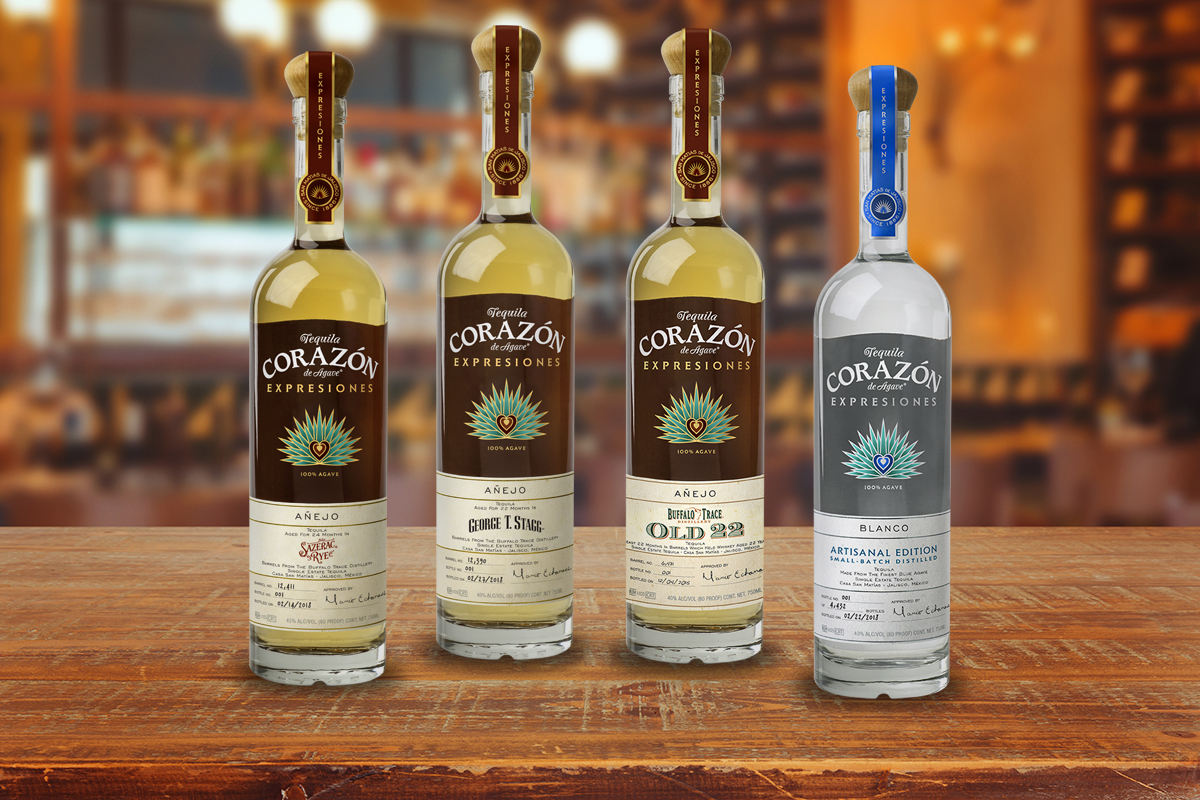 The Ultimate Tequilas for Whiskey Lovers: 2018 Expresiones del Corazón Collection