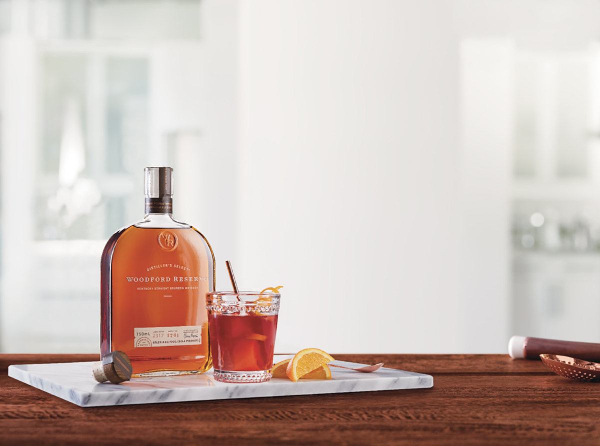 Bourbon without Borders: Woodford Reserve Belmont Jewel cocktail