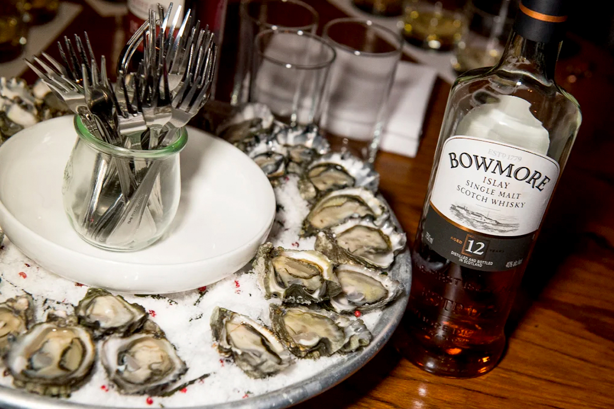 Last Minute Father's Day: Bowmore 12 Year + Oysters