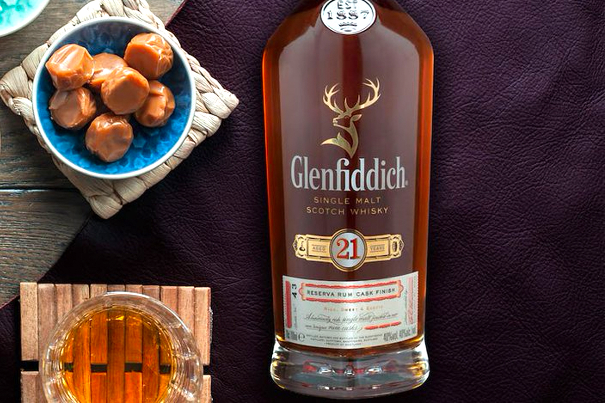 Last Minute Father's Day: Glenfiddich 21 Year Reserva Rum Cask