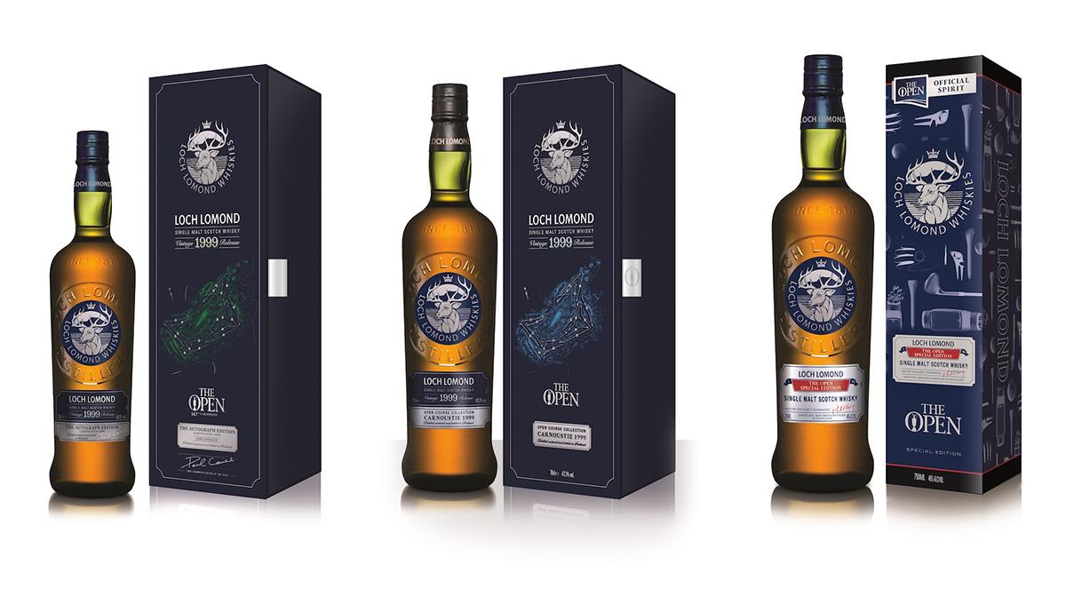 Loch Lomond The Open Championship Whiskies