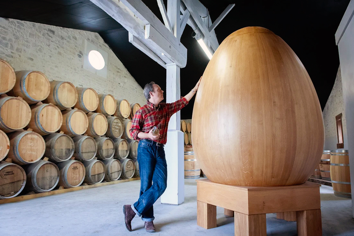 Experimental Wood Barrels: Citadelle's Wooden Egg
