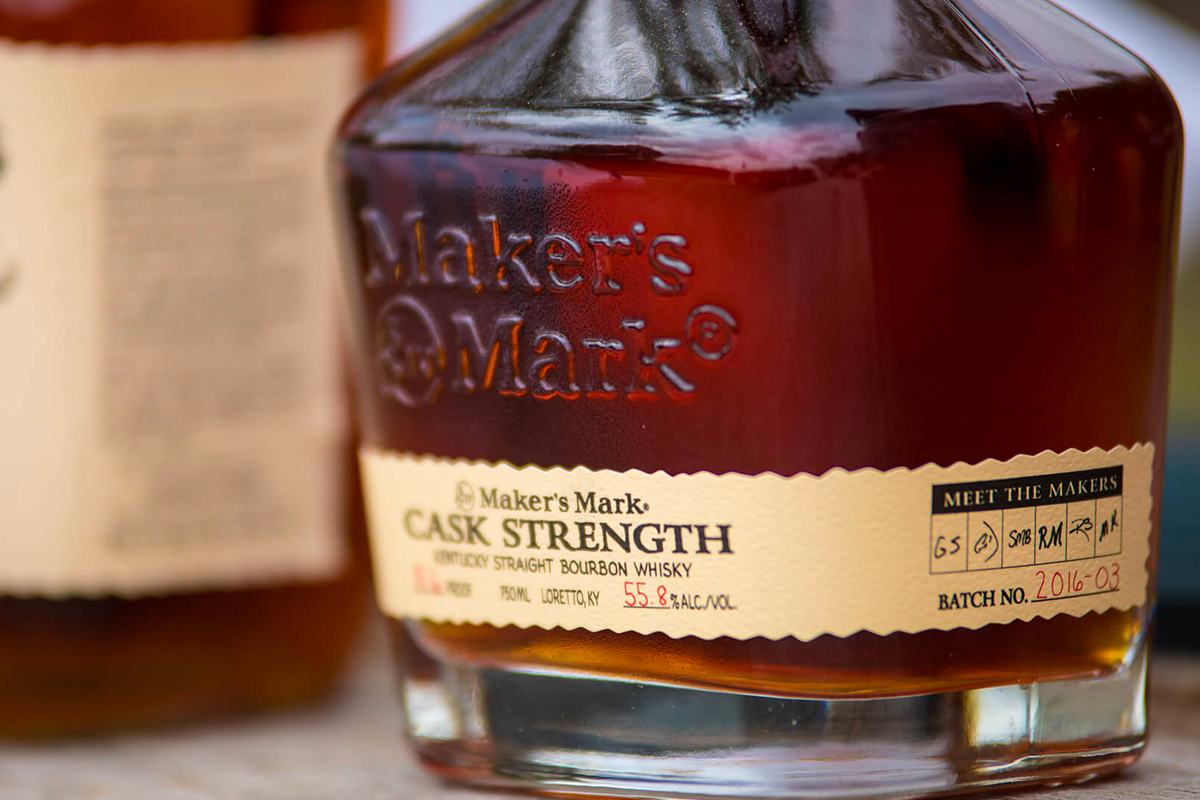 Barrel Proof Bourbon: Maker's Mark Cask Strength Bourbon