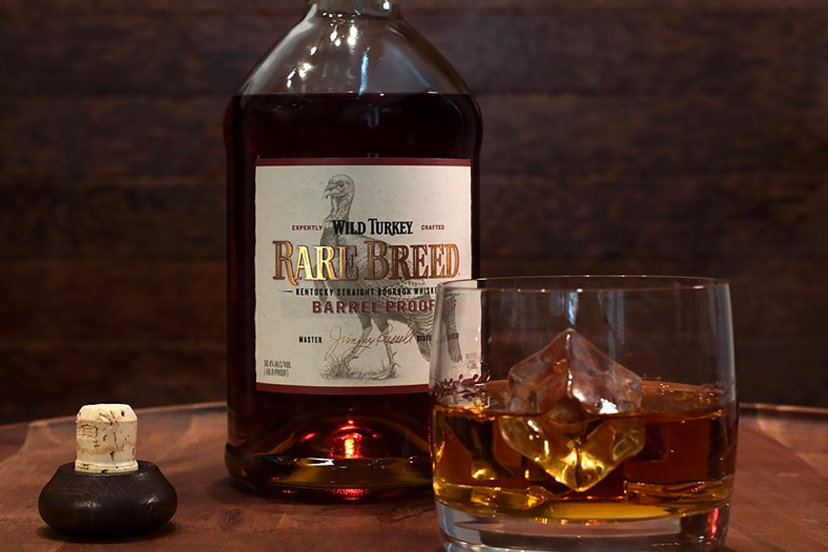 Barrel Proof Bourbon: Wild Turkey Rare Breed