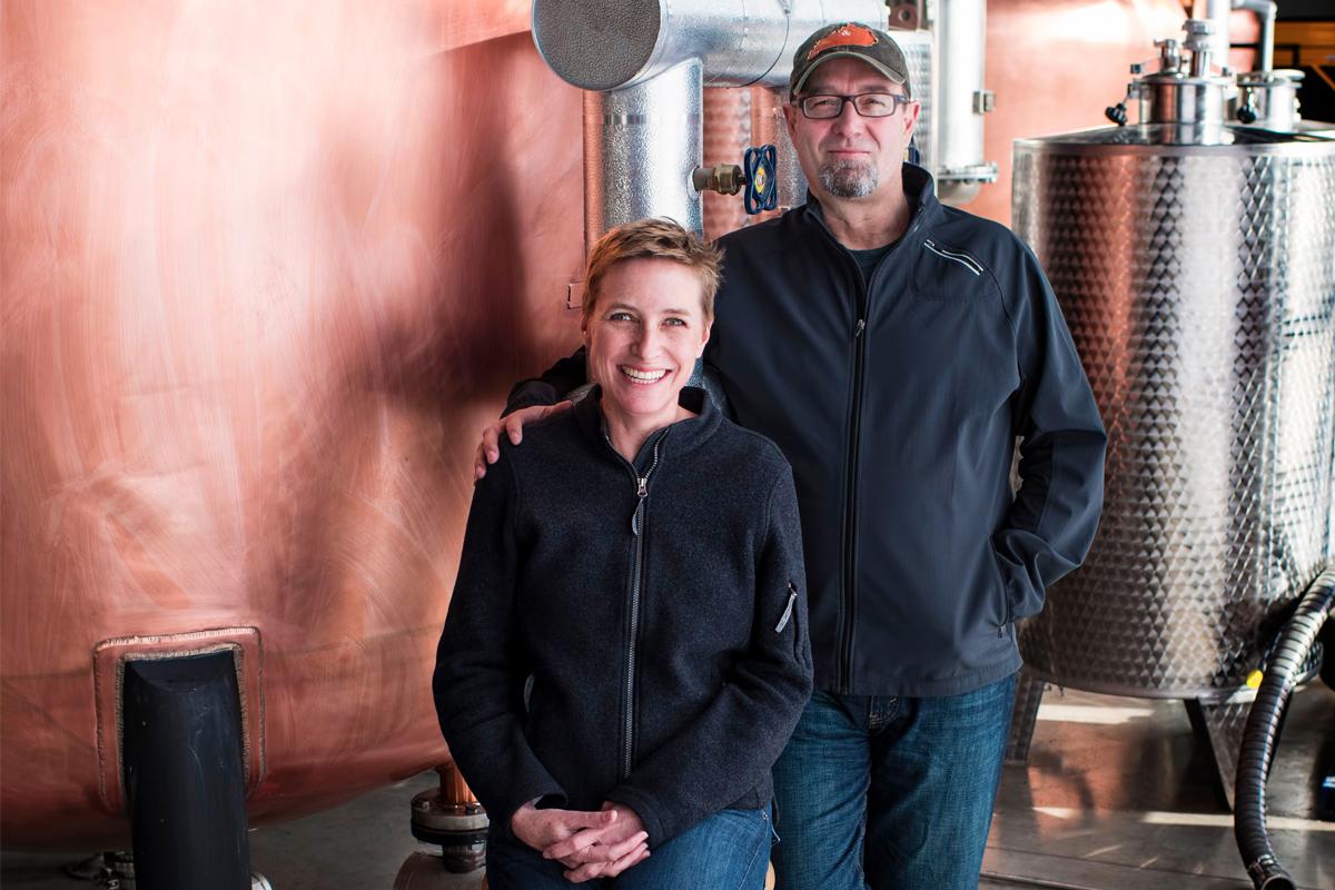 American Brandy: Joe and Lesley Heron