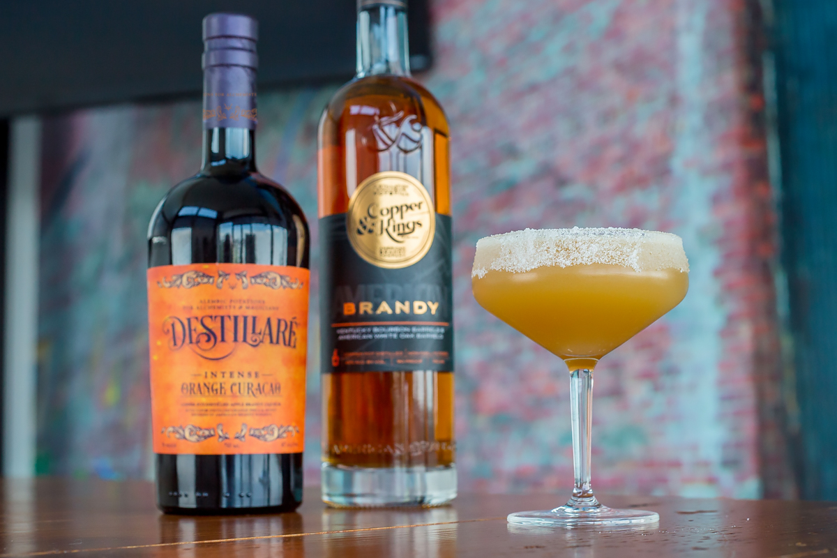 American Brandy: Copper & Kings Destillaré Orange Curaçao