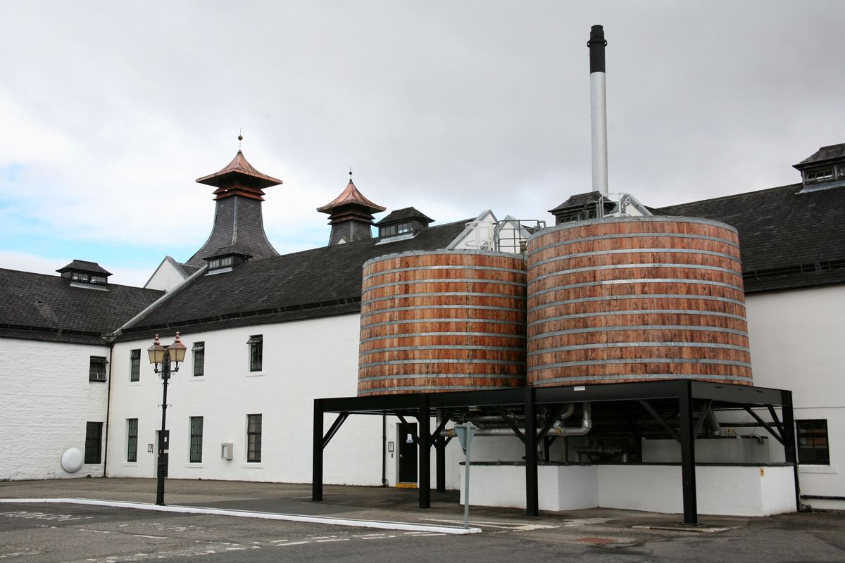 Whisky Condensers: Dalwhinnie Distillery worm tubs