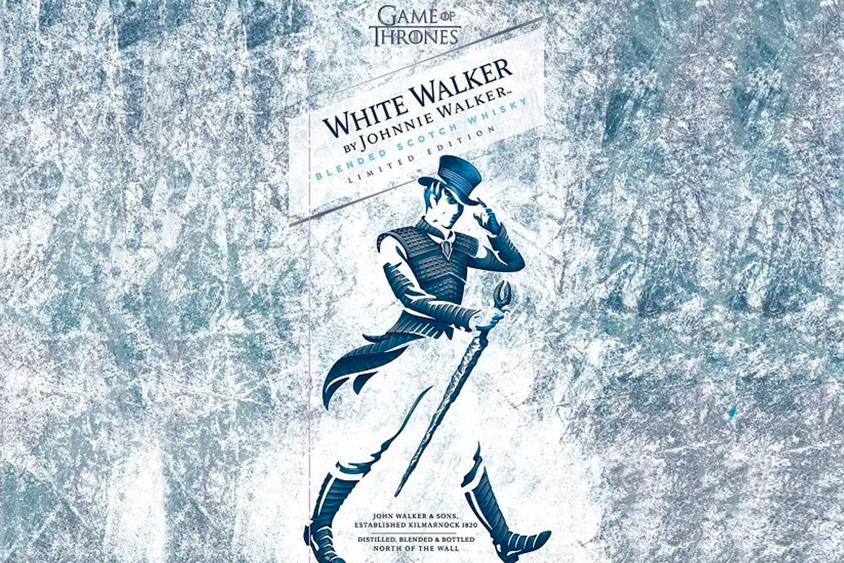 Game of Thrones Scotch: Johnnie Walker White Walker