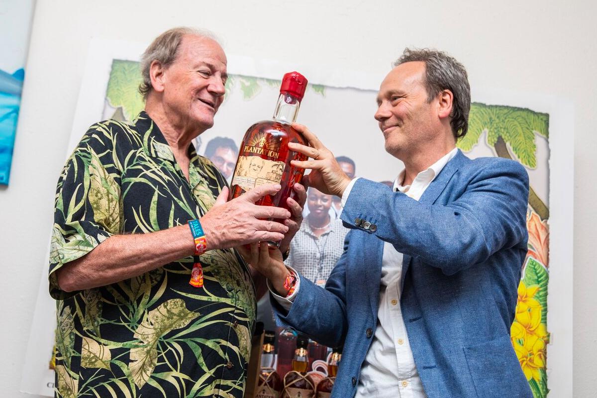 Plantation Rum Foundation: Steve Remsberg and Alexandre Gabriel