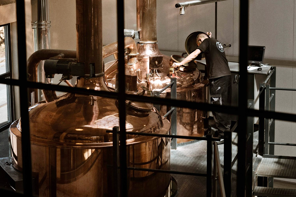 Nordic Whisky: The still room at Braunstein
