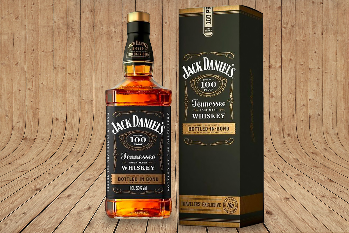 Jack Daniel's Bottled in Bond Travelers' Exclusive