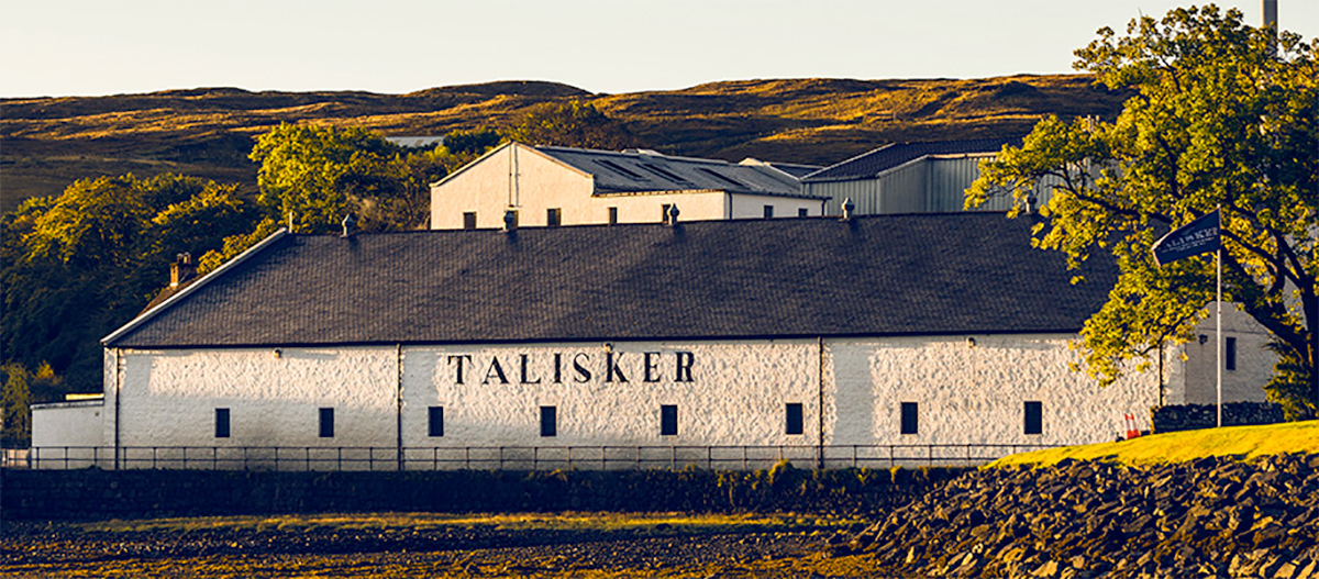 Talisker Distillery - Hebridean Whisky Trail