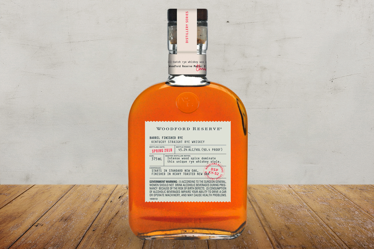 Woodford Reserve Barrel Finished Rye