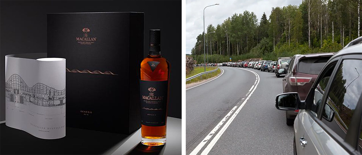 The Macallan Genesis Traffic Jam