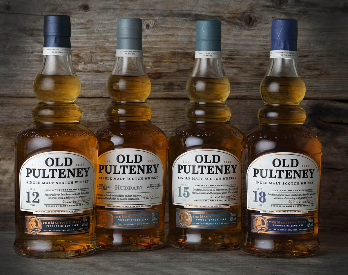 The New Old Pulteney Core Range