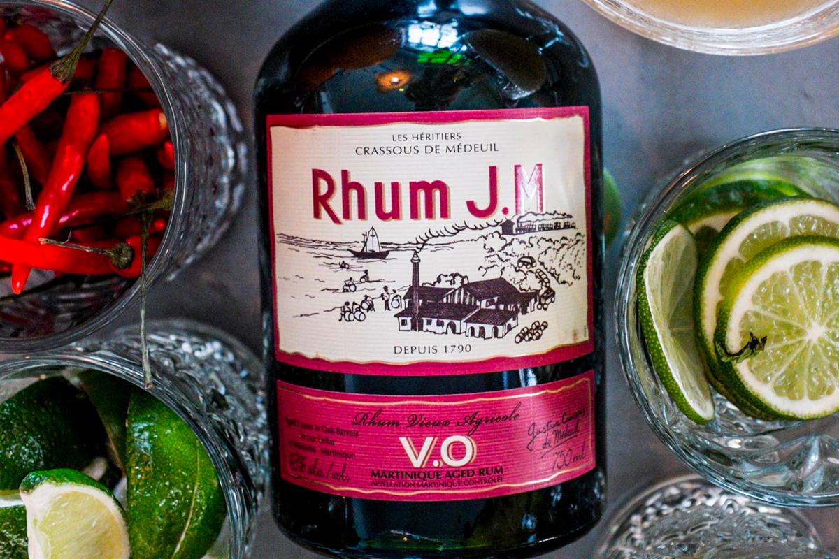 Martinique Rhum Agricole: Rhum J.M. V.O.