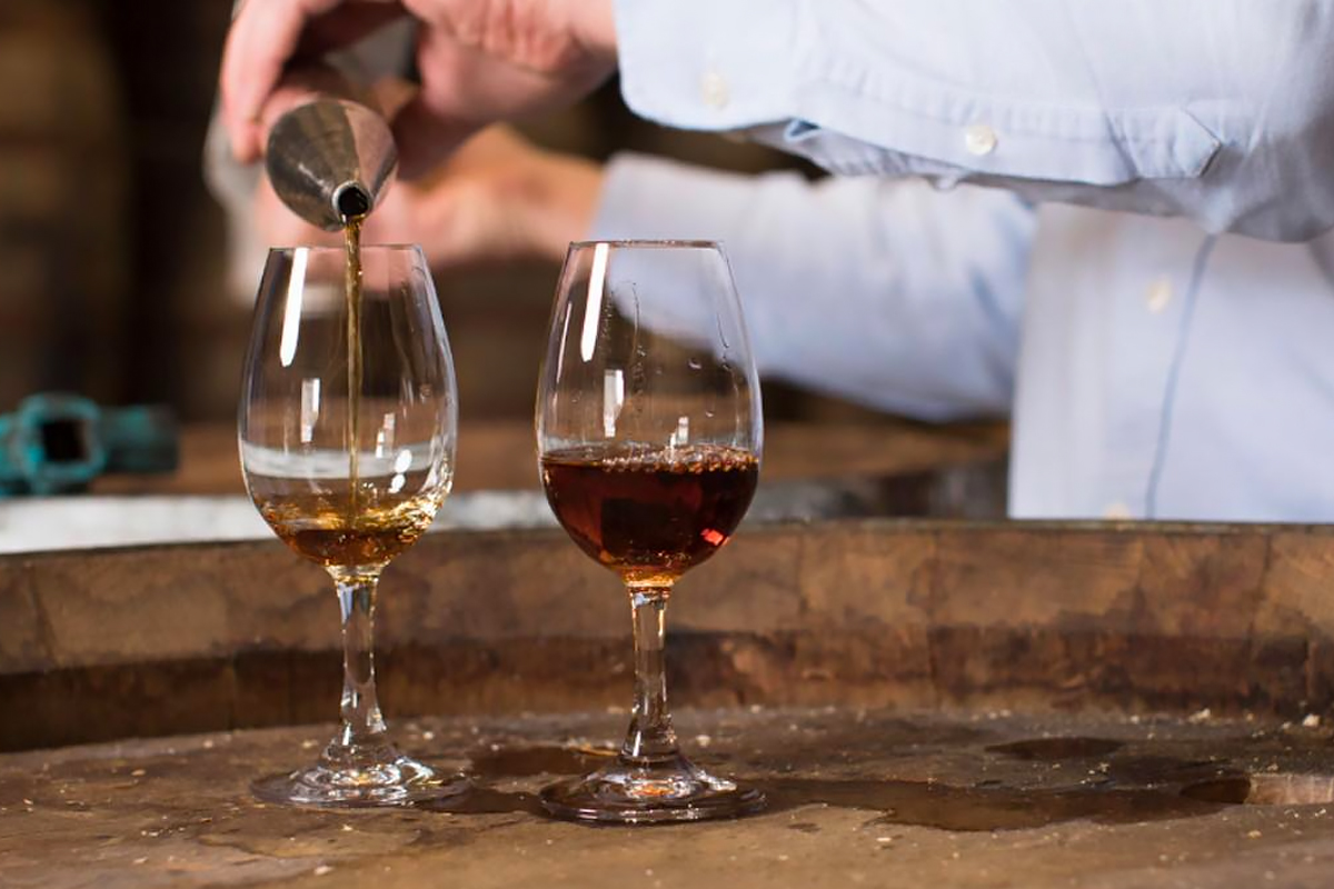 Triple Distillation: Sampling Redbreast whiskey