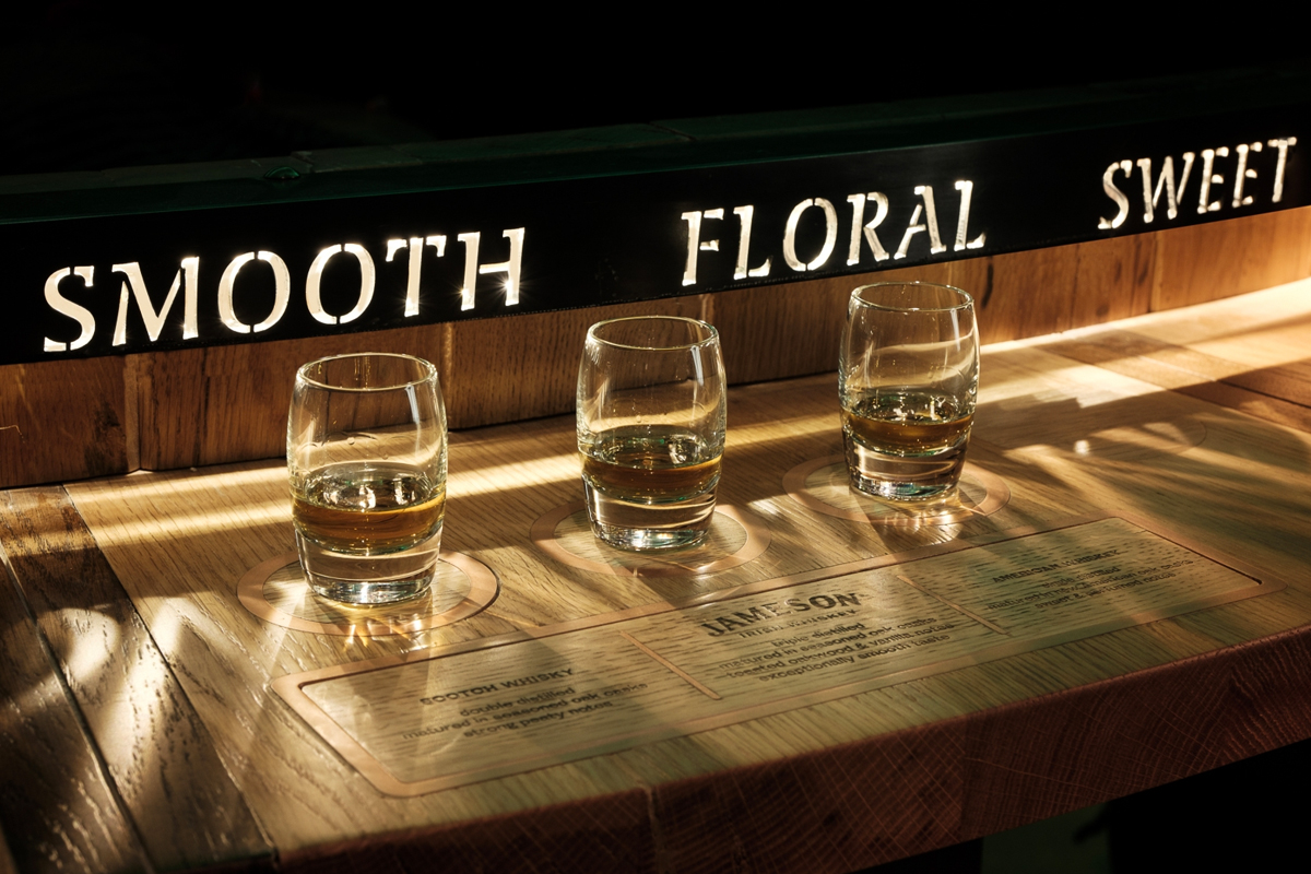 Triple Distillation: The Jameson Bow Street Experience