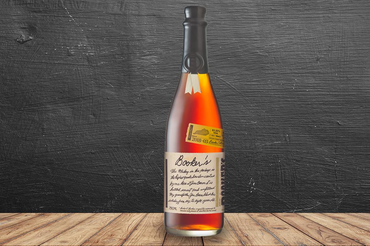 """Booker's Bourbon Batch 2018-03 """"Kentucky Chew"""""""