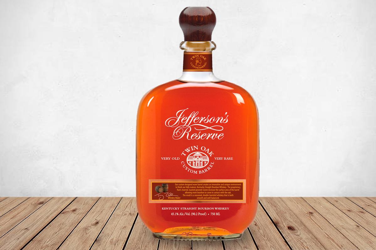 Jefferson's Reserve Twin Oak Custom Barrel Bourbon