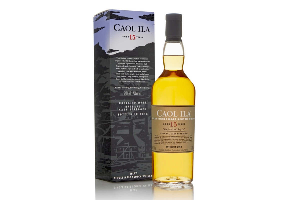 Diageo 2018 Special Release: Caol Ila 15 Year Unpeated Style
