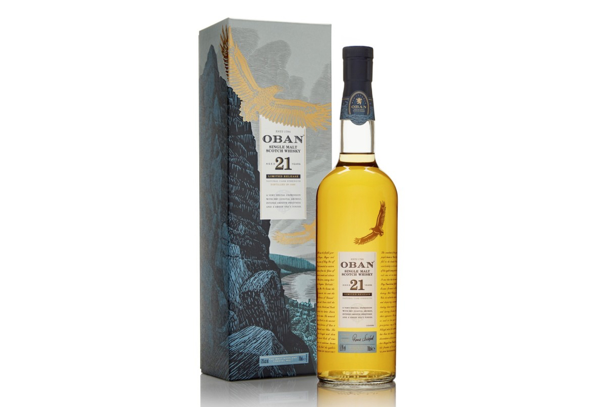 Diageo 2018 Special Release: Oban 21 Year