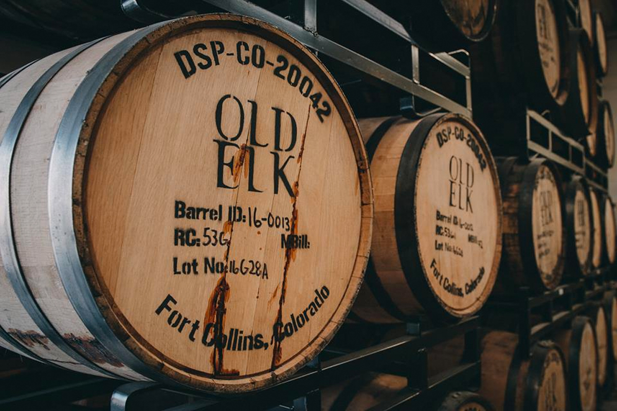 Blended Bourbon: Old Elk barrels