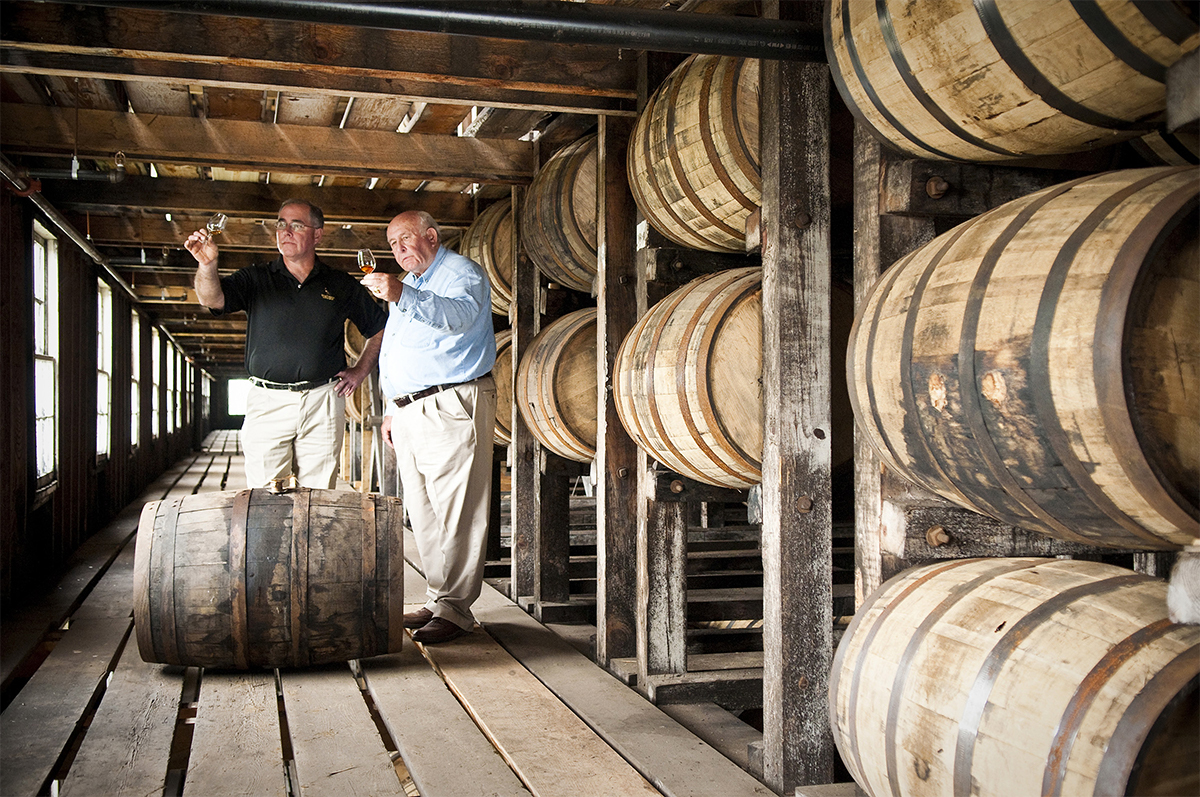 Jimmy and Eddie Russell Celebrate 101 Years In The Bourbon Industry