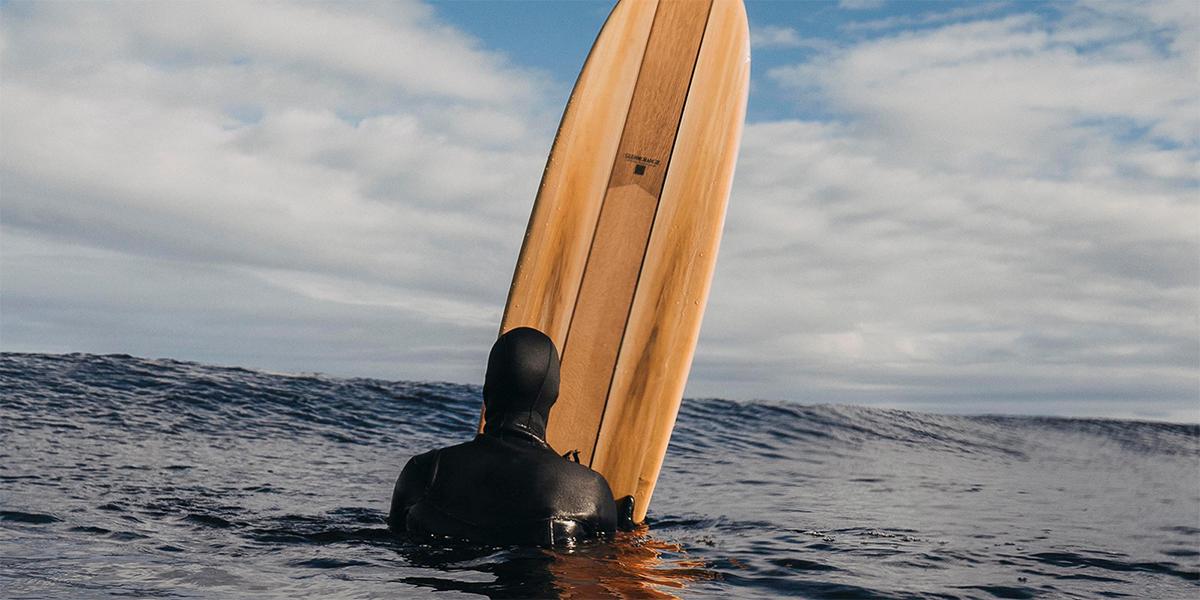 Glenmorangie Beyond the Cask surfboard